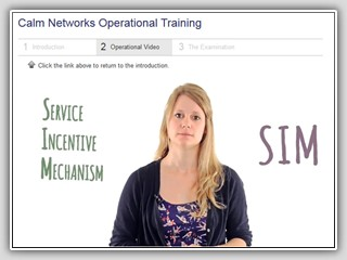 Calm Networks Online Course Video